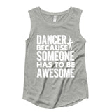 Belle 'AWESOME' Muscle Tee