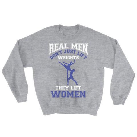 Men's 'REAL MEN' Crewneck