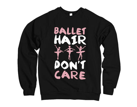 Belle Princess 'BALLET HAIR' Crewneck