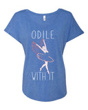 Belle 'ODILE WITH IT' Tee