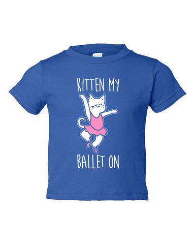 Belle Toddler 'KITTEN' Tee