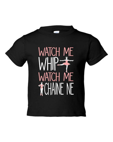 Belle Toddler 'WATCH ME WHIP' Tee