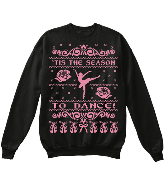Belle 'CHRISTMAS SWEATER' Crewneck PINK