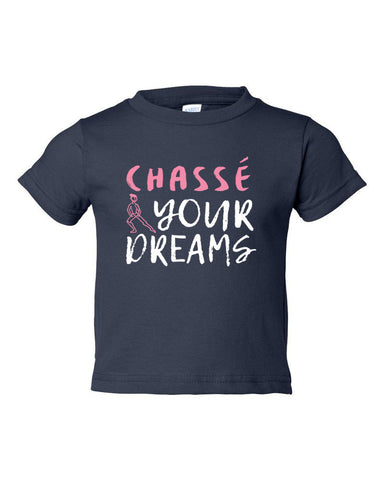 Belle Toddler 'CHASSÉ YOUR DREAMS' Tee