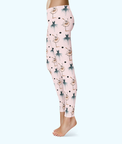 Belle 'BALLET PINK TUTU' Leggings