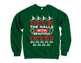 Belle Princess 'DECK THE HALLS' Crewneck