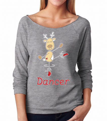 Belle 'DANCER THE REINDEER' Long Sleeve