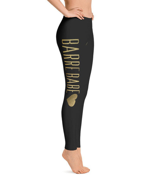 Belle 'BARRE BABE' Leggings