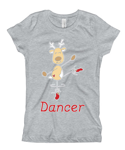Belle Princess 'DANCER THE REINDEER' Tee