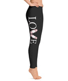 Belle 'LOVE' Leggings