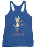 Belle 'DANCER THE REINDEER' Tank