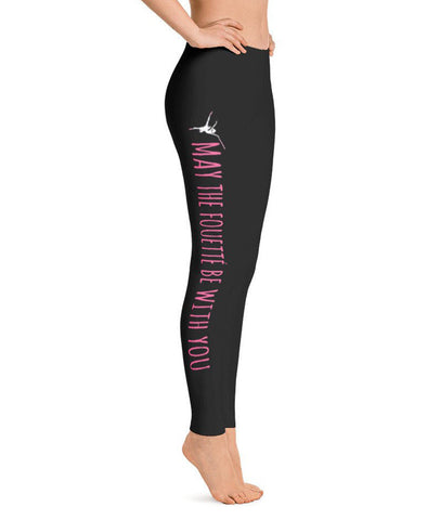 Belle 'MAY THE FOUETTÉ' Leggings