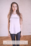 Belle 'HAPPY HOUR BARRE' Muscle Tee
