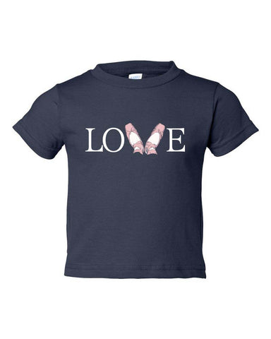 Belle Toddler 'LOVE' Tee