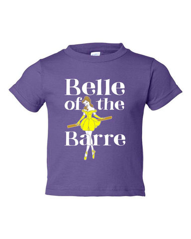 Belle Toddler 'BELLE OF THE BARRE' Tee