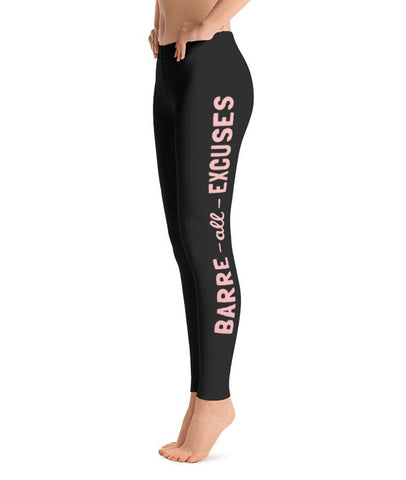 Belle 'BARRE ALL EXCUSES' Leggings