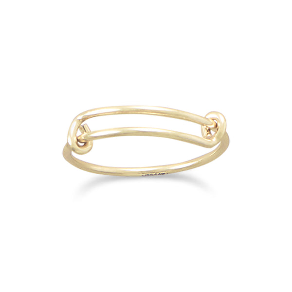 Gold Charm Ring