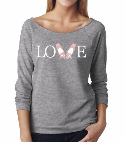 Belle 'LOVE' French Terry Long Sleeve