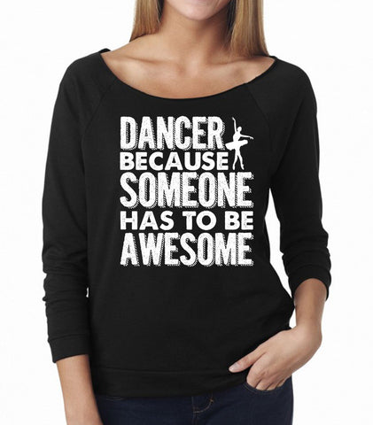 Belle 'AWESOME' French Terry Long Sleeve