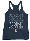 Belle 'HELLO LYRICS' Tank