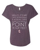 Belle 'HELLO LYRICS' Tee