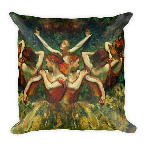 Belle 'DEGAS BALLERINA' Accent Pillow