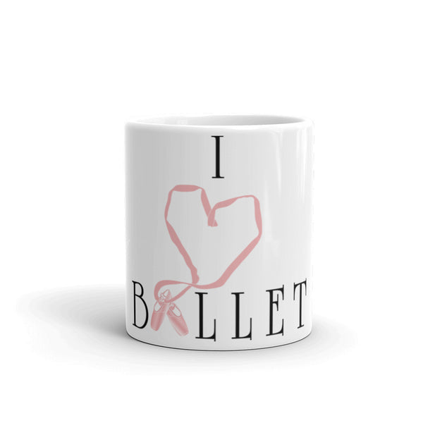 Belle 'I LOVE BALLET' Coffee Cup