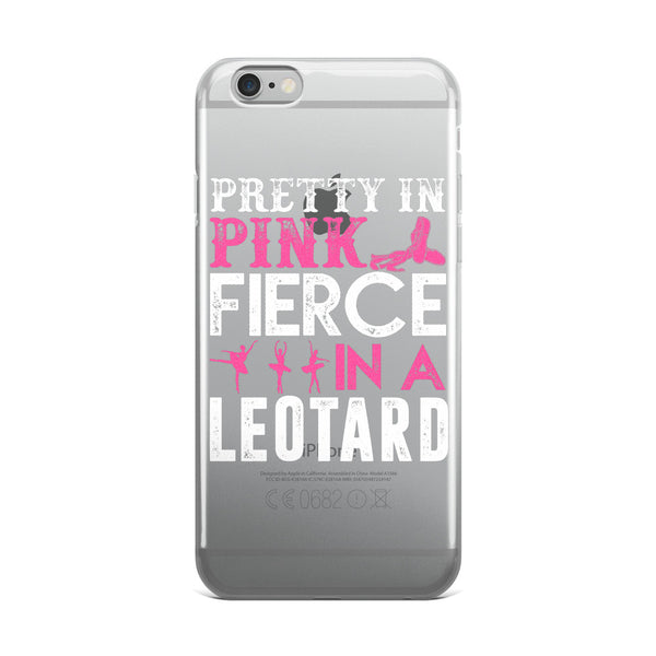 Belle 'PRETTY IN PINK' iPhone 5/6/6s Plus Case