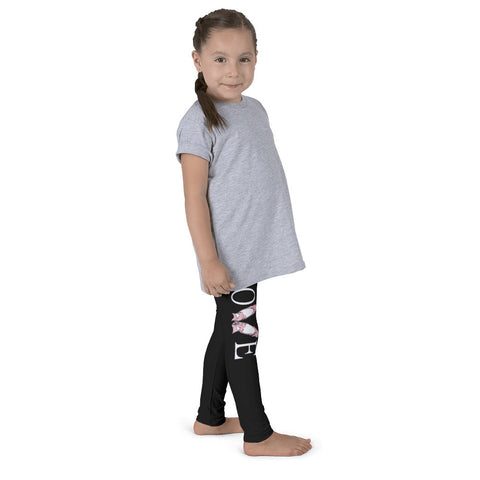 Belle Girl's 'LOVE' Leggings