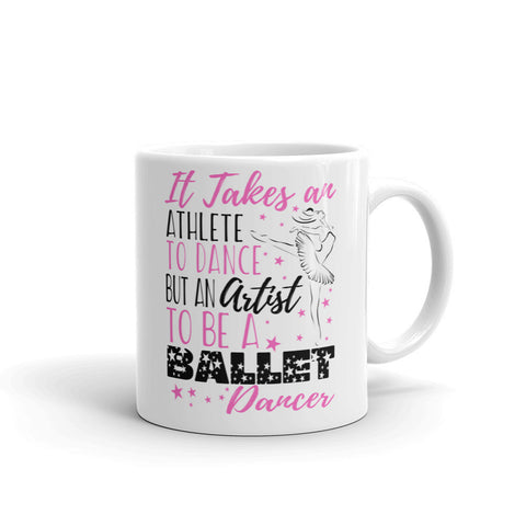Belle 'ATHLETE ARTIST' Coffee Cup