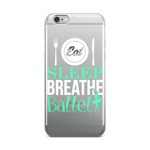 Belle 'EAT SLEEP BREATHE' iPhone 5/6/6s Plus Case