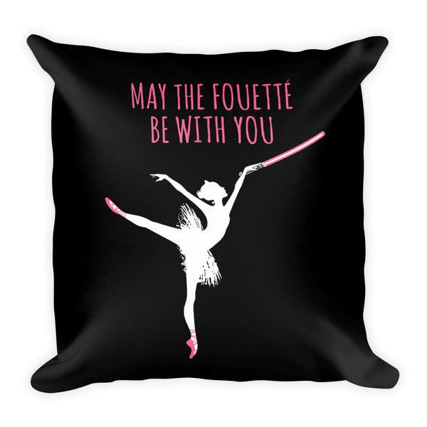 Belle 'MAY THE FOUETTÉ' Accent Pillow