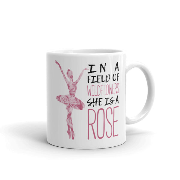 Belle 'SHE IS A ROSE' Coffee Cup