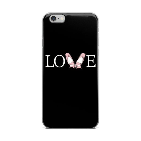 Belle 'LOVE' iPhone 5/6/6s Plus Case