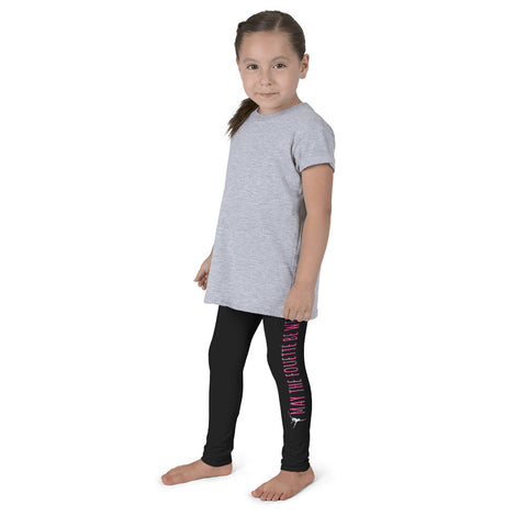 Belle Girl's 'MAY THE FOUETTE BE WITH YOU' Leggings