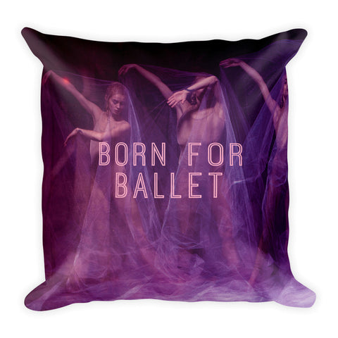 Belle 'BORN FOR BALLET' Accent Pillow
