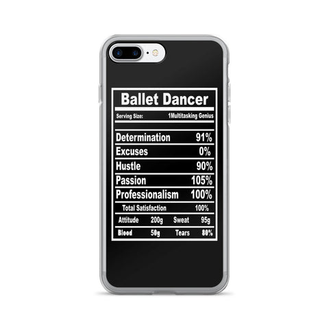 Belle 'BALLET DANCER' iPhone 7/7 Plus Case
