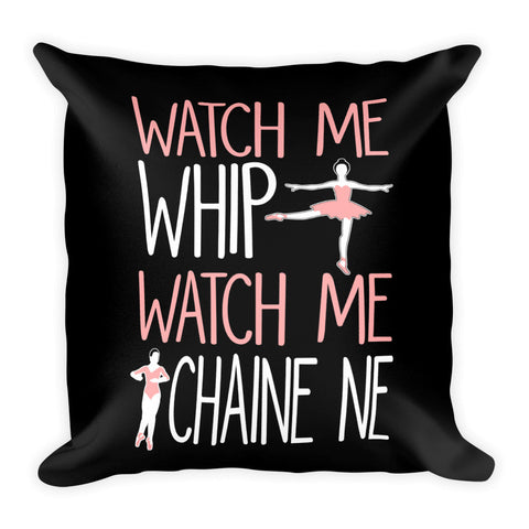 Belle 'WATCH ME WHIP' Accent Pillow