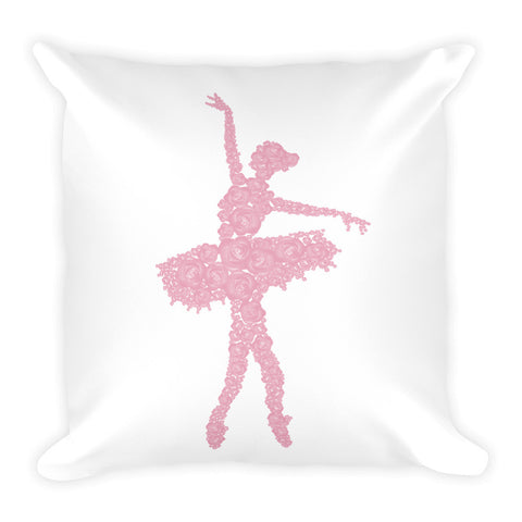 Belle 'ROSES' Accent Pillow