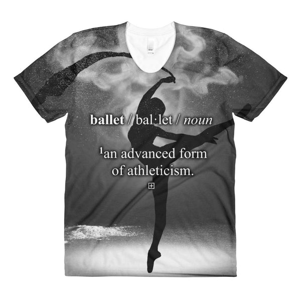 'BALLET DEFINITION' All-Over Graphic Tee