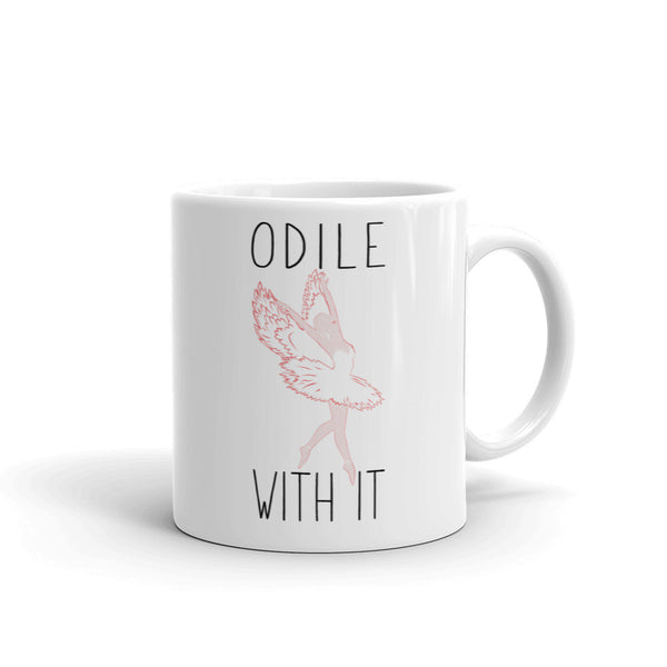 Belle 'ODILE WITH IT' Coffee Cup