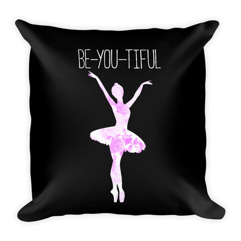 Belle 'BE-YOU-TIFUL' Accent Pillow