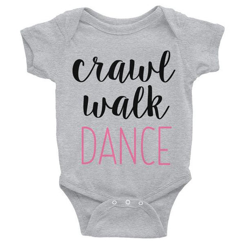Belle Baby 'CRAWL' Onesie