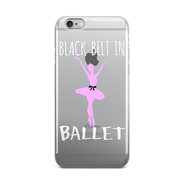Belle 'BLACK BELT' iPhone 5/6/6s Plus Case