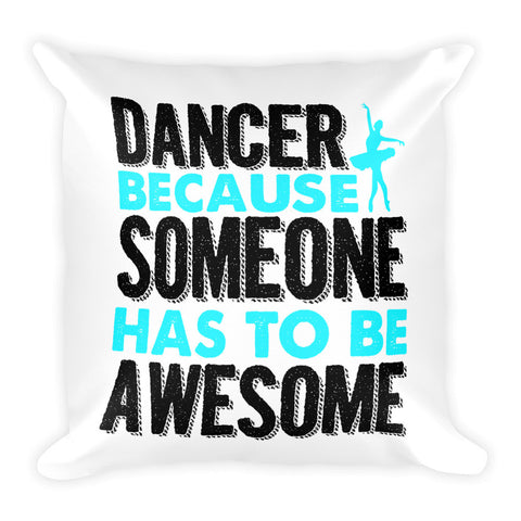 Belle 'AWESOME' Accent Pillow