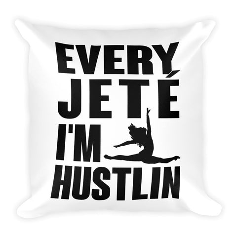Belle 'I'M HUSTLIN' Accent Pillow