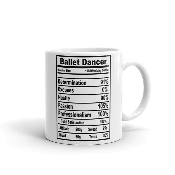 Belle 'BALLET FACTS' Coffee Cup