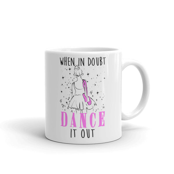 Belle 'DANCE IT OUT' Coffee Cup