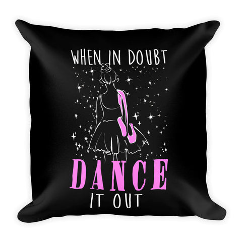 Belle 'DANCE IT OUT' Accent Pillow