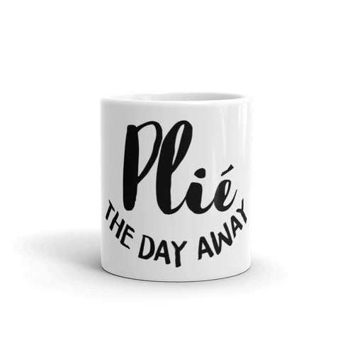Belle 'PLIÉ THE DAY AWAY' Coffee Cup